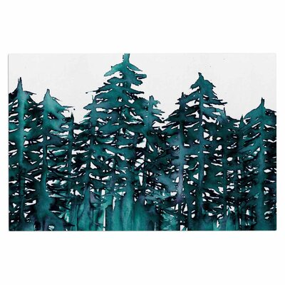 Ebi Emporium Forest Through the Trees 5 Doormat
