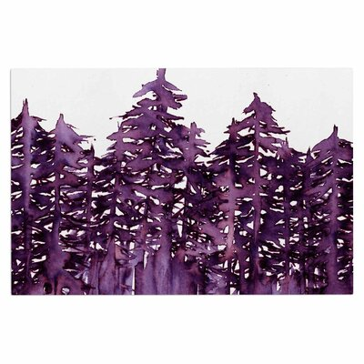 Ebi Emporium Forest Through the Trees 2 Doormat