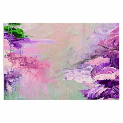 Ebi Emporium Winter Dreamland 4 Doormat Color: Pink/Purple