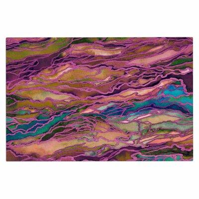 Ebi Emporium Marble Idea! Jewel Tone Doormat Color: Lavender/Pink