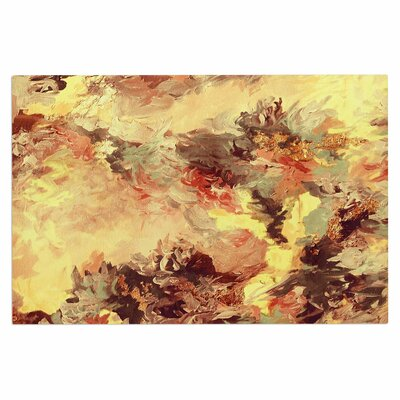 Ebi Emporium When We Were Mermaids 10 Doormat Color: Yellow/Tan