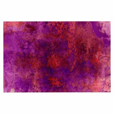 Ebi Emporium Epoch 2 Doormat Color: Red/Purple