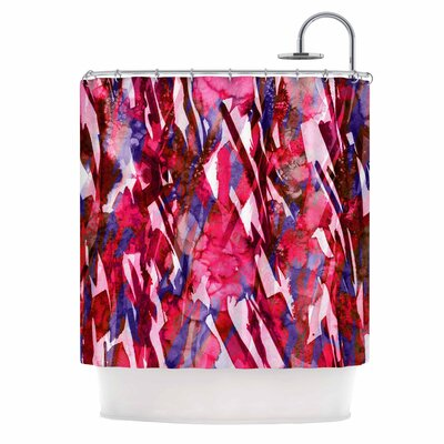 Ebi Emporium Frosty Bouquet 5 Abstract Shower Curtain