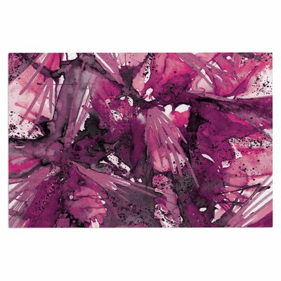 Ebi Emporium Birds of Prey Doormat Color: Magenta/Purple/Pink
