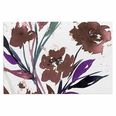 Ebi Emporium Pocket Full of Posies Doormat Color: Brown/Beige/White
