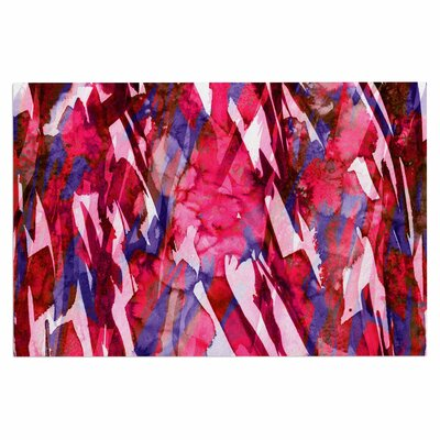 Ebi Emporium Frosty Bouquet 5 Abstract Doormat