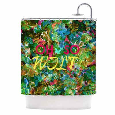 Ebi Emporium Oh So Wild Shower Curtain