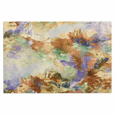 Ebi Emporium When We Were Mermaids 10 Doormat Color: Tan/Lavender