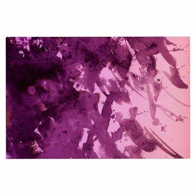 Ebi Emporium Splash Out Doormat Color: Purple/Pink