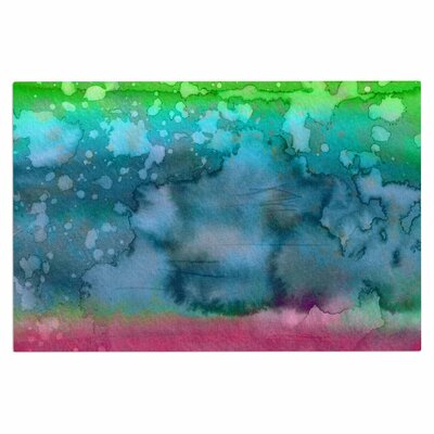 Ebi Emporium California Surf 2 Doormat Color: Green/Teal