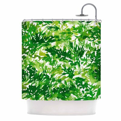 Ebi Emporium in the Meadow 1 Abstract Shower Curtain