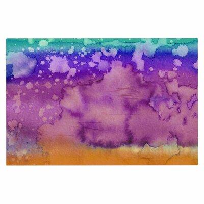 Ebi Emporium California Surf 2 Doormat Color: Orange/Blue