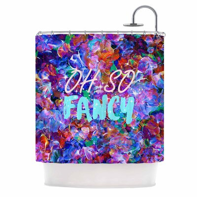 Ebi Emporium Oh So Fancy Shower Curtain
