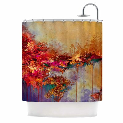 Ebi Emporium When Land Met Sky 4 Shower Curtain