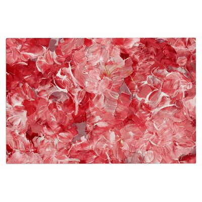 Ebi EmporiumBloom on! Abstract Doormat Color: Pink/White/Red