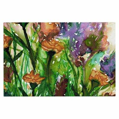 Ebi Emporium Floral Insurgence 6 Doormat Color: Pink/Purple