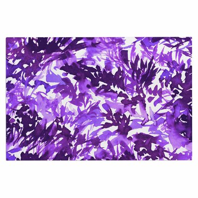 Ebi Emporium In the Meadow 4 Multi Doormat Color: Purple/White/Lavender