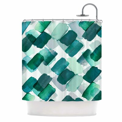 Ebi Emporium Strokes of Genius 6 Shower Curtain