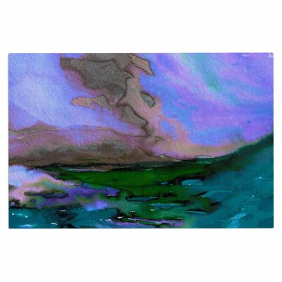 Ebi Emporium Elevated 3 Doormat Color: Purple/Blue