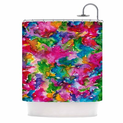 Ebi Emporium Summer Swirls Shower Curtain