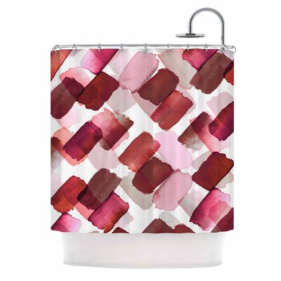 Ebi Emporium Strokes of Genius 7 Shower Curtain