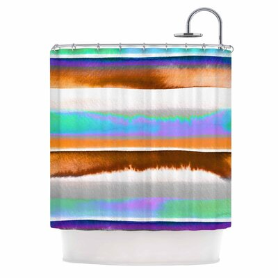 Ebi Emporium Prism Stripes 1 Shower Curtain