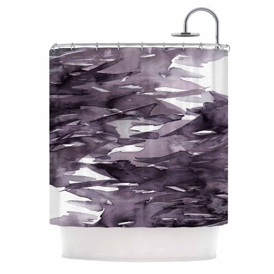 Ebi Emporium Fervor 9 Shower Curtain Color: Purple/Lavender