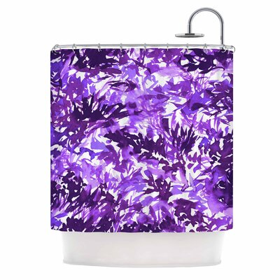 Ebi Emporium in the Meadow 4-Purple Multi Shower Curtain