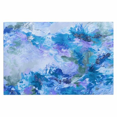 Ebi Emporium When We Were Mermaids 15 Watercolor Doormat