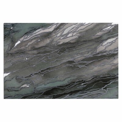 Ebi Emporium Agate Magic Elegance 2 Watercolor Doormat Color: Gray/Tan