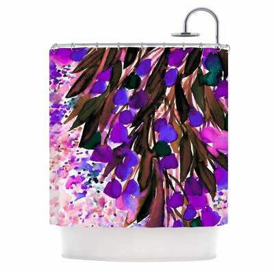Ebi Emporium Botanical Regency Shower Curtain