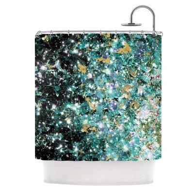Ebi Emporium Minty Way Shower Curtain