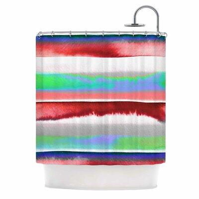 Ebi Emporium Prism Stripe 2 Shower Curtain