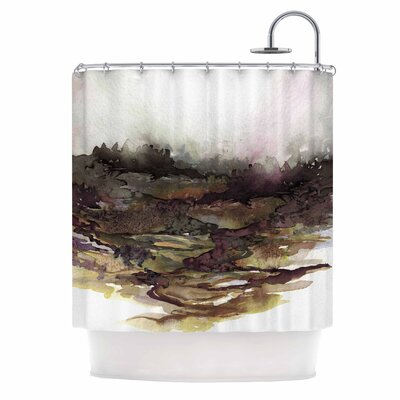Ebi Emporium the Long Road 1 Shower Curtain