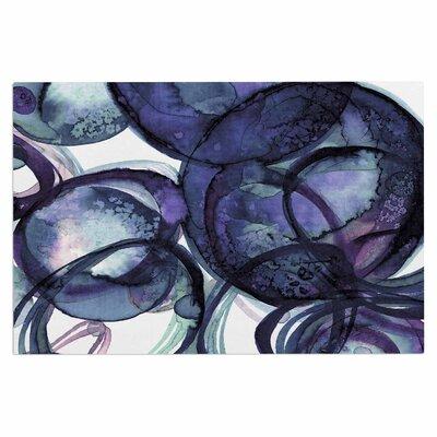 Ebi Emporium Worlds Collide 5 Watercolor Doormat