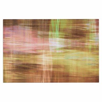 Ebi Emporium Blurry Vision 4, Painting Doormat Color: Tan/Yellow