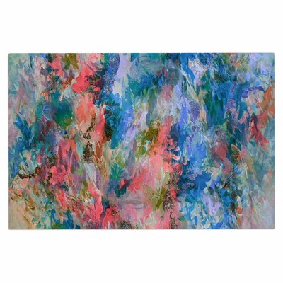 Ebi Emporium The Nexus 2, Painting Doormat Color: Blue/Coral