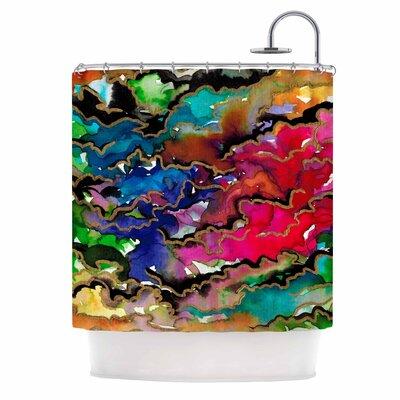 Ebi Emporium Summer Swells Shower Curtain