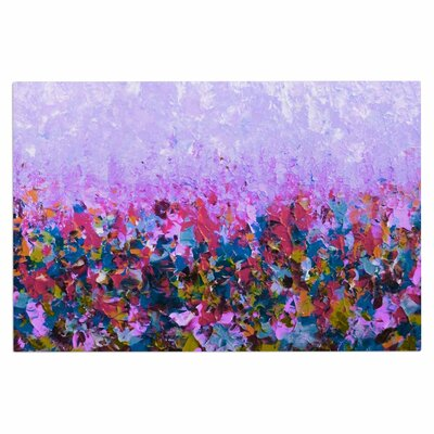 Ebi Emporium Natures Living Room, Painting Doormat Color: Purple