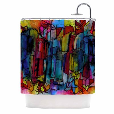 Ebi Emporium Facets of the Self 4 Shower Curtain