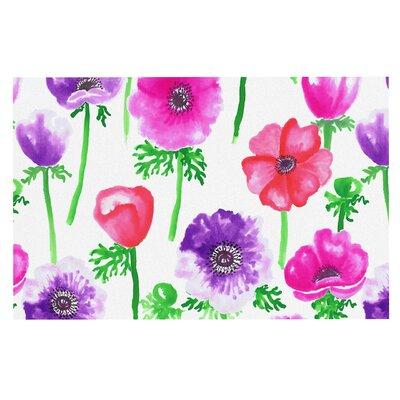Anneline Sophia Anemone Flower Doormat