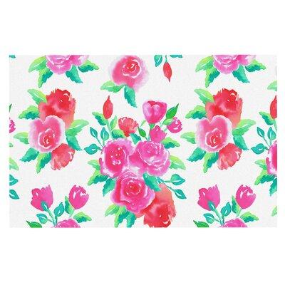 Anneline Sophia Roses Floral Doormat