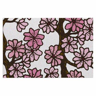 Art Love Passion Cherry Blossoms Doormat