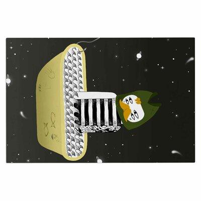 Anya Volk Fisherman Abstract Doormat
