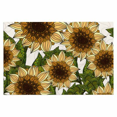 Art Love Passion Sunflower Field Doormat
