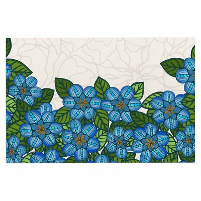 Art Love Passion Flower Field Doormat