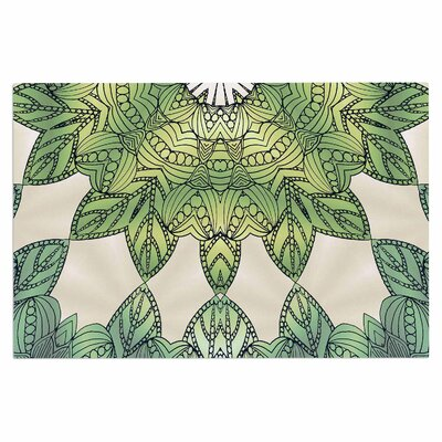 Art Love Passion Forest Leaves Celtic Abstract Doormat