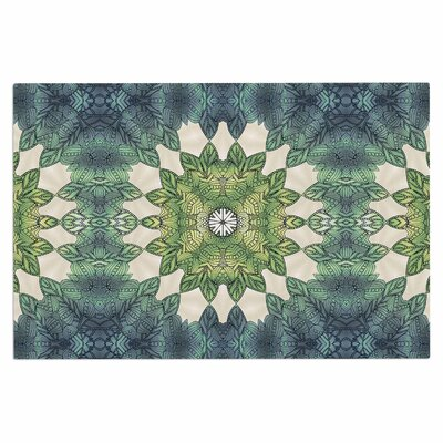 Art Love Passion Forest Leaves Repeat Geometric Doormat