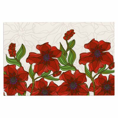 Art Love Passion Poppy Field Doormat