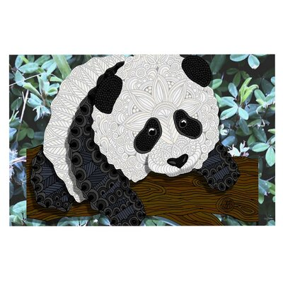 Art Love Passion Panda Doormat
